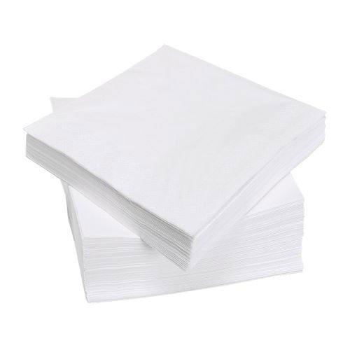Ikea IKE-500.357.52 weiß FANTASTISK Papierservietten (40cm x 40cm) dreilagig 100 Stück