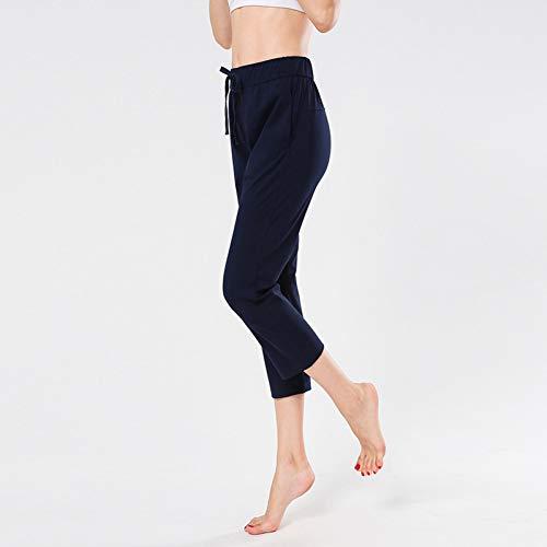 Rincr Nuevos Pantalones Cortos de Yoga para Mujer Pantalones de Gimnasia para Correr Casuales Femeninos Pantalones de chándal Sueltos de harén Transpirables Rectos
