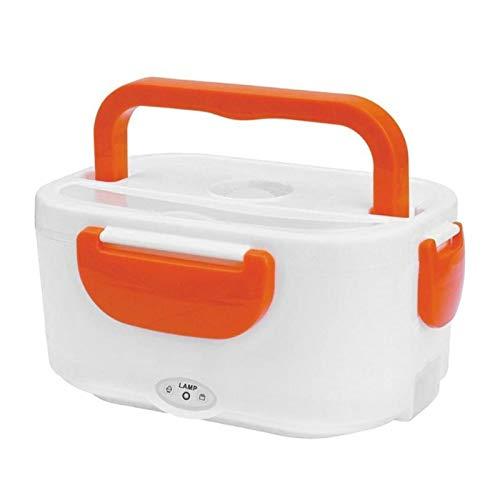 Caja de almuerzo 220V 1.05L Calefacción eléctrica portátil Caja de almuerzo de grado alimenticio Casa de calidad de comida Dual Uso de la caja de almuerzo Bento Contenedor de calefacción Calentador de