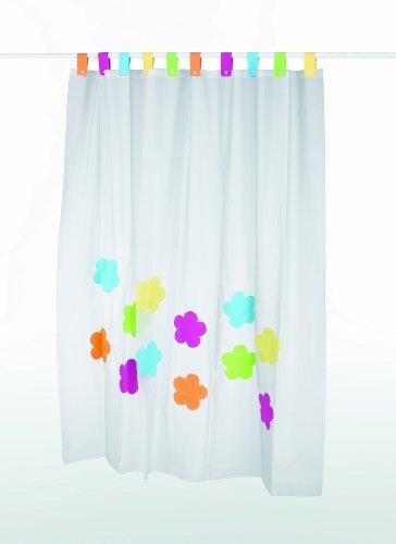 kela Duschvorhang Flowers PEVA 180 x 200 cm