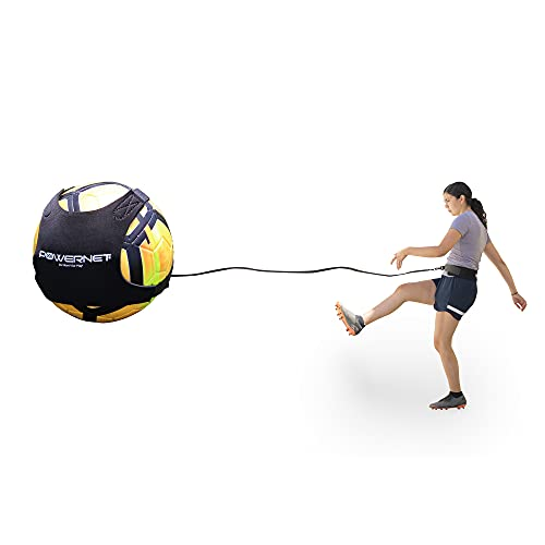 PowerNet Soccer Solo Trainer | Fits Size 3, 4 or 5...