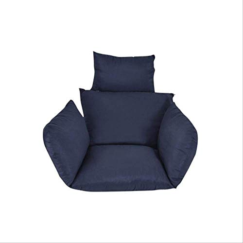 AINIYUE Sitzkissen für Komfort, Hängestuhlkissen, Swinging Garden Outdoor Soft Pads, Für Schlafsaal-Schlafmatte one Size blau