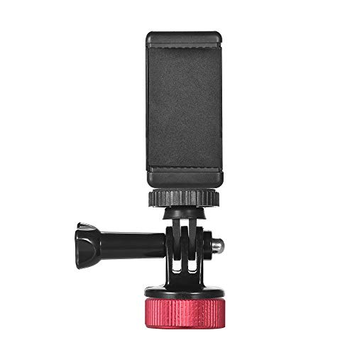 Manbily 飲料ボトルキャップ スマートフォン カメラ スタンドホルダー 1/4インチネジ 撮影用 ビデオウォッチング用 アクションカメラ iPhoneX/8/8P Samsung HTC Blackberry用