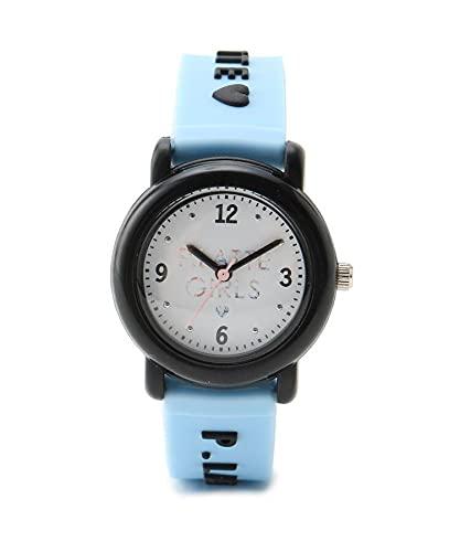 [ ピンク ラテ ] 腕時計 エンボスウォッチ 32021365 キッズ サックス(090) 00