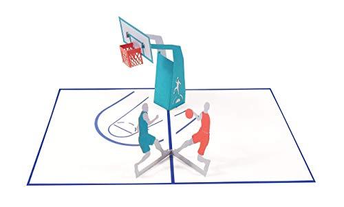 Pop Up Karte 3D Basketball Spiel Geburtstagskarte Gutschein Sport Glückwunschkarte Glückwunsch Geburtstag - Basketball 027