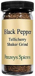 Shaker Grind Black Pepper By Penzeys Spices 2.1 oz 1/2 cup jar