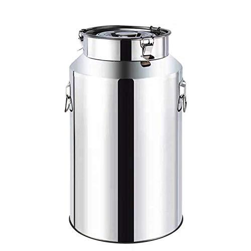 Oven Leche de Acero Inoxidable, Lata, láctea Pesada Jarra de Jarra de láctea Cubo Cubo Cubo Cubo Cubo Botella de Almacenamiento de contenedor de líquido (tamaño : 18L)