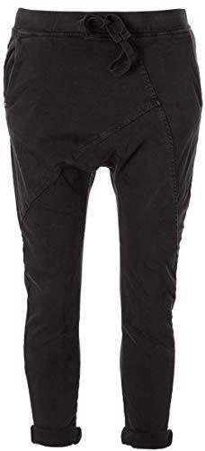 Basic.de Boyfriend-Hose im Joggpant Style Melly & CO 8175 Schwarz M