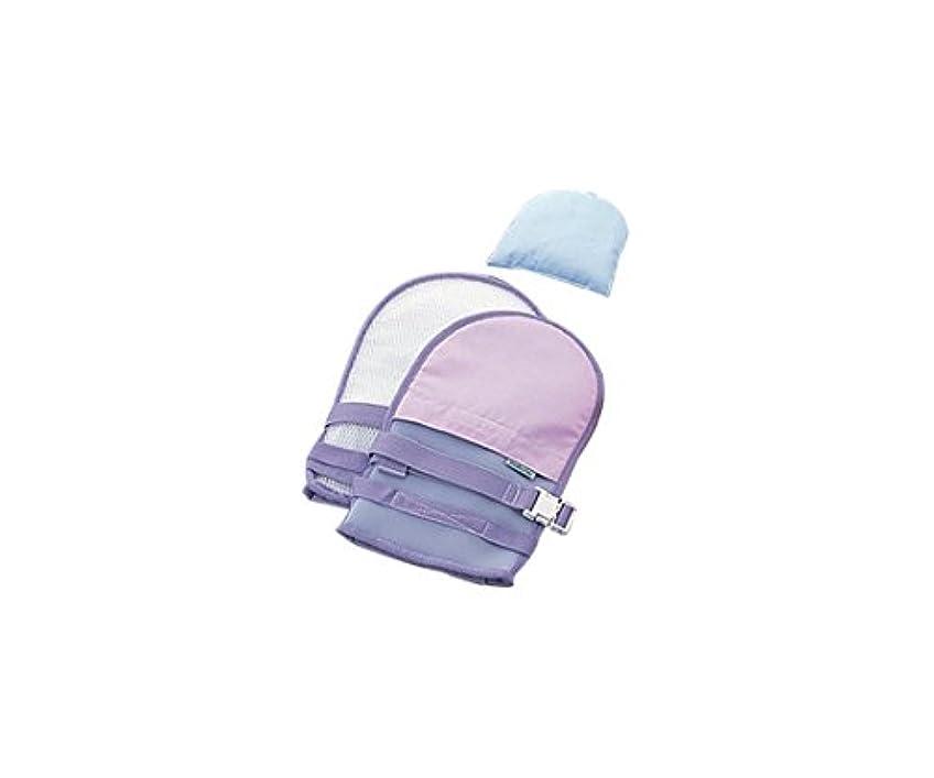 三レキシコンチキンナビス(アズワン)0-1638-33抜管防止手袋小メッシュパープル