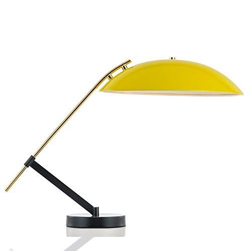 Sebasty Post-moderna Minimalista Lámpara De Mesa De Color Amarillo Personalidad De La Moda Creativa Habitación Cálida Sala De Estar Lámpara De Mesa De Protección For Los Ojos Dormitorio For Niños 40 *