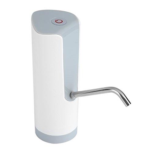Yosoo Botella de agua eléctrica inalámbrica automática, bomba de agua potable, dispensador...