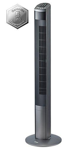 Trisa Electronics 9346.4310 Turmventilator Fresh Breeze, 45 W, schwarz, 19 x 20.2 x 121 cm