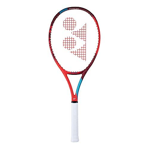 YONEX New Vcore 100L Tango Red Encordado: No 280G Raquetas De Tenis Raquetas De Competición Rojo - Azul 3
