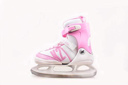 K2 Skates Kinder Ice Skates Schlittschuhe Annika LTD - Rosa-Weiß - 25C0191.1.1 - EU 35-40 / L