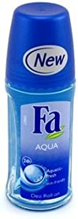Fa Deodorant 1.7oz Roll-On Aqua (2 Pack)