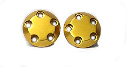 710-0903 Carbon S5 Frame Slider Replacement End Caps - Gold - Two Caps Included - MADE IN THE USA