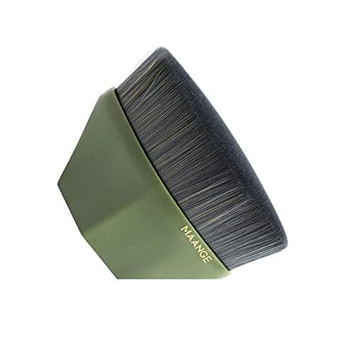 Green Foundation Pinceau plat visage fard à joues crème Bb Pinceaux Pinceau Poudre pour crème ou Flawless poudre cosmétiques Maquiagem