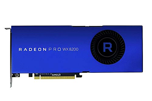 AMD Radeon Pro WX 8200 Graphic Card