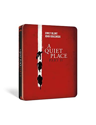 A Quiet Place II (Steelbook 4K UHD + Blu-Ray) (Limited Edition) (2 Blu Ray)