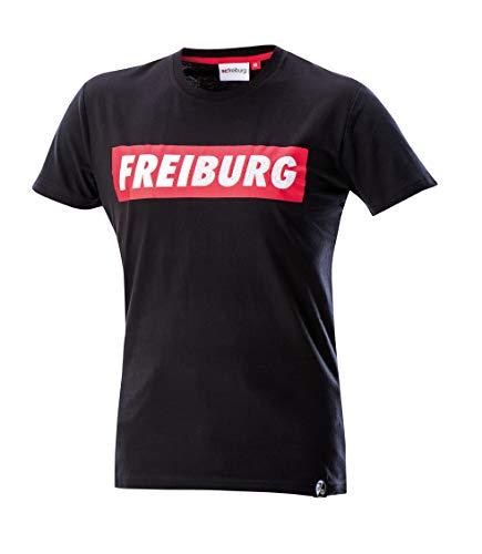 Sport-Club Freiburg Freiburg T-Shirt (L, schwarz)