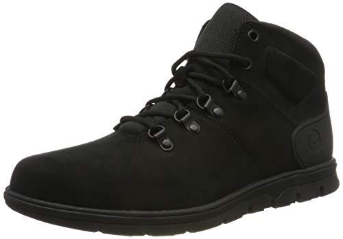 Timberland Herren Bradstreet Hiker Chukka Boots, Schwarz (Black Nubuck), 46 EU