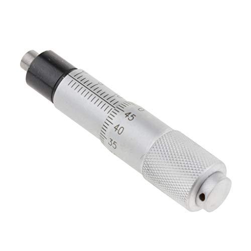 Almencla - Herramienta de medición de cabeza de micrómetro de aguja redonda de 0 a 13 mm de alta precisión