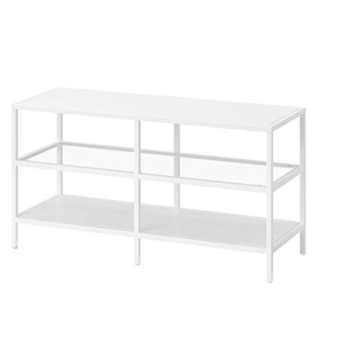 IKEA TV-Bank VITTSJÖ 100x36x53cm weiß/glas