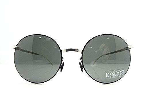 Mykita Sonnenbrillen Lite Sun TUULI Silver/Black