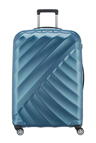 "TITAN ""SHOOTING STAR"" von TITAN®: Robuste Hartschalen-Trolleys in coolem Metallic-Look in 4 Trendfarben Koffer, 77 cm, 109L, Petrol"