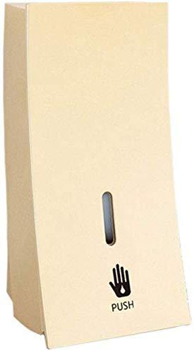 Yxsd Dispensador de jabón líquido para montaje en pared, 450 ml, desinfectante manual de manos para fregadero, baño, lavadero, eliminar residuos (tamaño: C)
