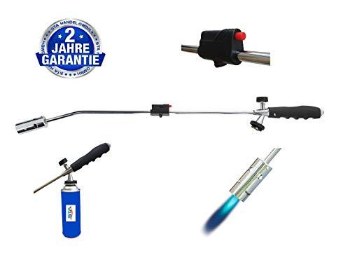 Unkrautbrenner Gasbrenner Unkrautvernichter Brenner Abflammgerät Unkrautreiniger (ohne Gaskartusche)