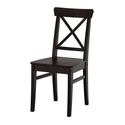 Ikea Ingolf–Silla Marrón de Negro