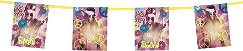 Generique - Guirnalda Hippie Flower Power 3 m