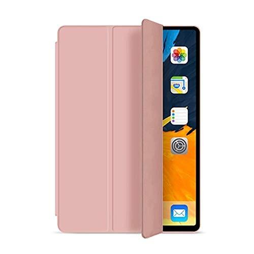 Funda para iPad 5ª 6ª 9.7 pulgadas 2017 2018 7ª 10.2 pulgadas 2019 Mini 5 Air 3 10.5 pulgadas nuevo Pro 11 suave silicona PU Smart Sleep Cover (color: oro, tamaño: para iPad 7ª 10.2 pulgadas)