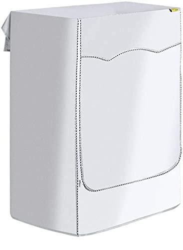 BZL POP Heces Lavadora Cubierta de Lavadora Cubierta a Prueba de Polvo Cubierta de Secadora con Cremallera para Proteger Las lavadoras y secadoras (S: 38-44cm)-L: 51-57cm