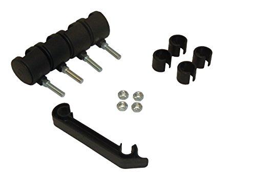 Accesorios de Notebook cama plegable (ruedas, pinzas de cierre, plásticos de protección)
