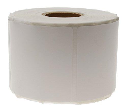Cablematic pn20071610010174179–Sd35Rotolo di 600etichette adesive per stampante termica diretta, 50.8x 50.8mm, bianco