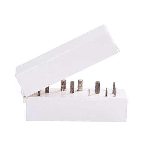 Sapphery - 30 trous pour nail art - Boîte de rangement - Outils de manucure