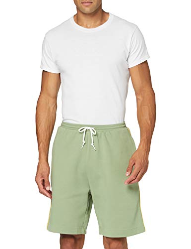 adidas Short Pantalones Cortos de Deporte, Hombre, Tent Green, S