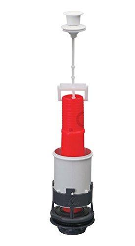 Spülgarnitur Spülkasten Ablaufventil mit Taste Spülung Heberglocke für WC