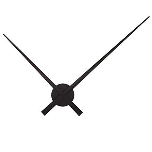 LYTZX Wanduhr, übergroße Wanduhr, Persönlichkeit Uhr, Uhrengehäuse, große Stundenzeiger, DIY Uhr Zubehör, stille Bewegung, einfache Kreativität