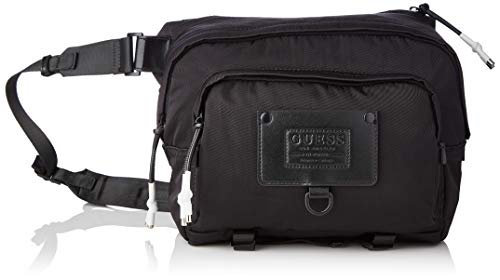 Guess CERTOSA CAMERA BAG, BACKPACK Uomo, BLACK, One Size