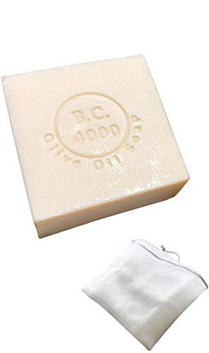 シュバイツアー高橋『B.C.4000100%バージンオリーブオイル石鹸100g』