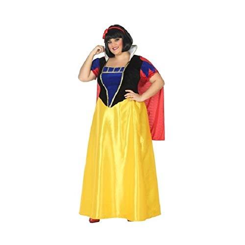 Atosa-39378 Disfraz Princesa de Cuento, Color Amarillo, XL (39378)