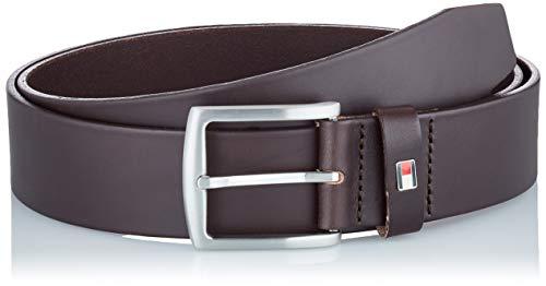 Tommy Hilfiger New Denton Belt 4.0 Cintura, Marrone (Testa di Moro), 110 Uomo