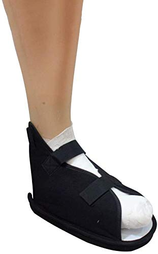 QMZDXH Zapatos Quirúrgicos Ortopédicos,Calzado Post Quirúrgico Fractura Pie Bota Caminar Médica Ligera Correas Ajustables