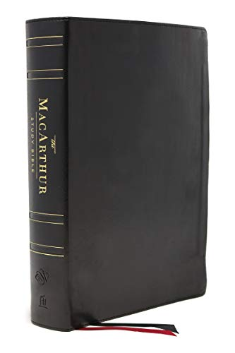 ESV MacArthur Study Bible, The, 2nd Edition, Genuine leather, Black, Thumb Indexed: Unleashing God's Truth One Verse at a Time