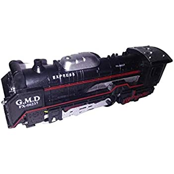 Captech Battery Operated Train Toy Set for Kids-Black