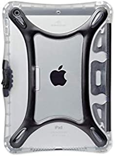 Brenthaven BX2 Edge Case with Integrated Cover That Doubles As Stand Designed for Apple IPad Mini 1-3 for K-12 Students, Teachers and Kids – Black,Durable,Rugged Protection from Impact and Compression