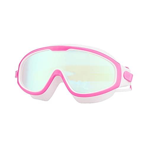 ZYNS Gafas de natación Gafas de natación para niños Anti-niebla Protección UV Clear Wide Vision Gafas de natación con tapón para los oídos para niños de 4 a 15 años